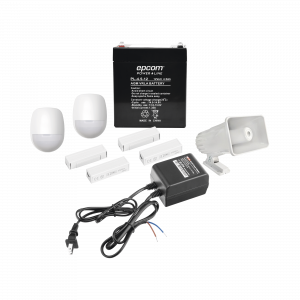 Kit de Accesorios para Sistemas de Alarma Cablebeados