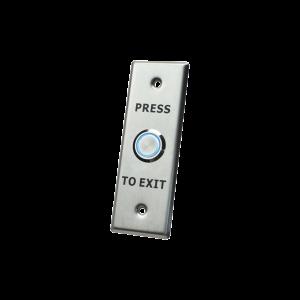 Botón de salida con aro iluminado/ IP65