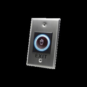 Botón de salida sin contacto/ sensor IR / iluminado / Normalmente abierto y cerrado / Distancia ajustable de detección