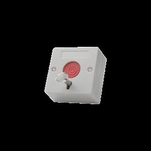 Botón de pánico a prueba de fuego / Restablecimiento con llave / tamaño compacto para fácil instalación