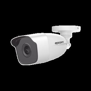 Bala TURBOHD 1080p / METÁLICA / Gran Angular 103° / Lente 2.8 mm / IR EXIR 40 mts / Exterior IP66 / TVI-AHD-CVI-CVBS