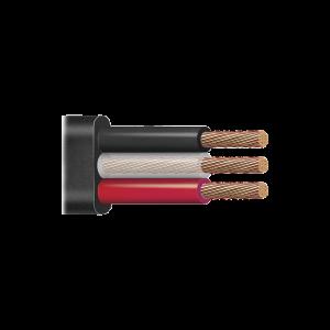 Cable trifásico plano para bomba sumergible 3 X 10 AWG Venta / metro.