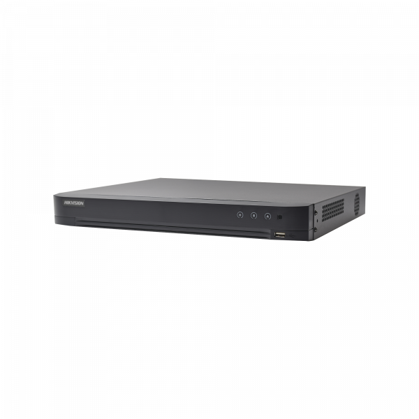 DVR 4 Megapixel / 32 Canales TURBOHD + 8 Canales IP / 2 Bahías de Disco Duro / 1 Canal de Audio / Videoanalisis