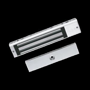 Chapa Magnética de 600 Lbs (280 Kg) / Sensor de Estado de la Placa / Certificado CE /  Para Uso en Interior / Indicador LED / Magnetismo Anti-residual
