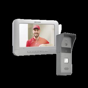 Kit de Videoportero Analógico con Pantalla LCD a Color de 7 / Frente de Calle para Exterior IP65