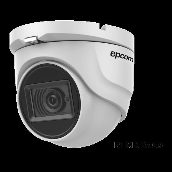 Eyeball TURBOHD 4K (8Megapixeles) / Gran Angular 102º / Lente 2.8 mm / Exterior IP67/ IR EXIR 30 mts / dWDR / TVI-AHD-CVI-CVBS