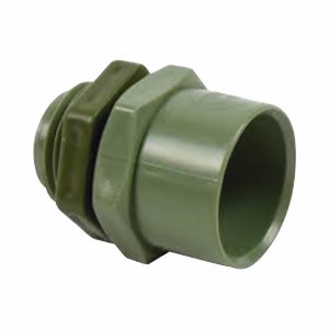 Conector de 1-1/2 para tuberia PVC conduit pesado (38 mm)