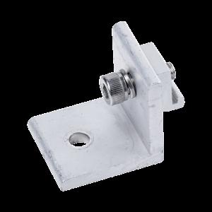 Grupo Conector L de Aluminio  Anodizado 6005-T5