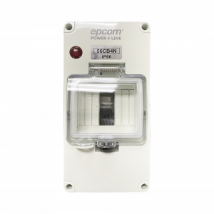 Gabinete Plástico para Exterior IP66 para Riel Din