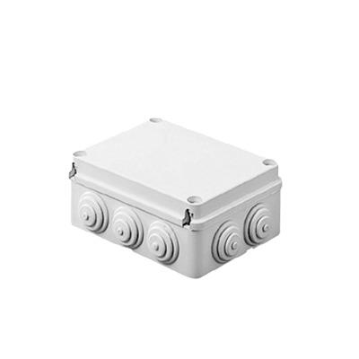 Caja de derivación de PVC Auto-extinguible con 12 entradas