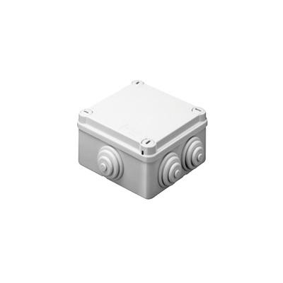 Caja de derivación de PVC Auto-Extinguible con 10 entradas