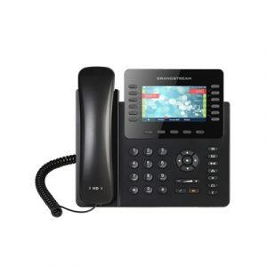 Teléfono IP empresarial de 12 Líneas con 5 teclas de función y conferencia de 4 vías