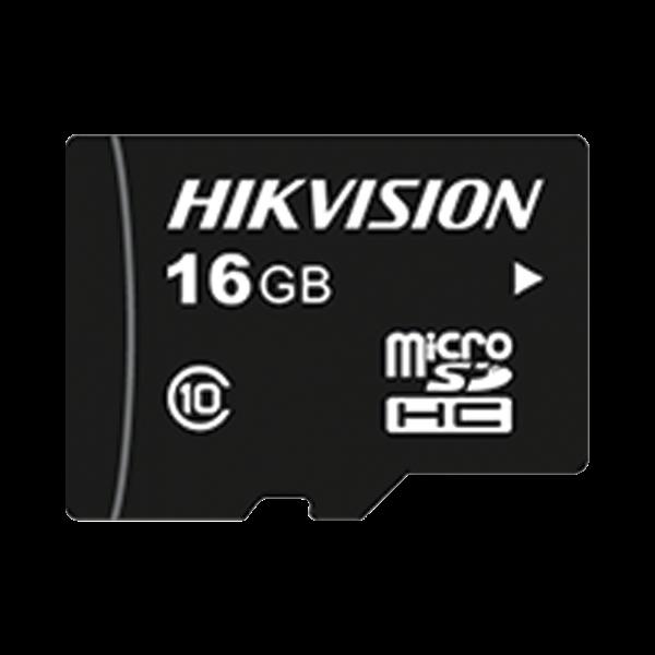 Memoria microSD / Clase 10 de 16 GB / Especializada Para Videovigilancia / Compatibles con cámaras HIKVISION