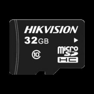Memoria microSD / Clase 10 de 32 GB / Especializada Para Videovigilancia / Compatibles con cámaras HIKVISION