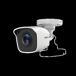Bullet TURBOHD 720p / METÁLICA / Gran Angular 92° / Lente 2.8 mm / IR EXIR Inteligente 20 mts / Exterior IP66 / 4 Tecnologías (TVI / AHD / CVI / CVBS)