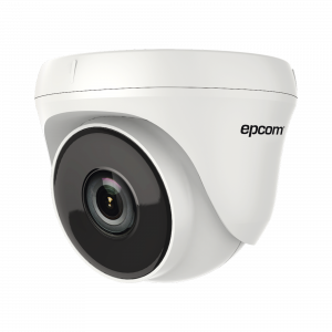 Eyeball TURBOHD 720p / Gran Angular 92º / Lente 2.8 mm / IR EXIR Inteligente 20 mts / Interior / TVI-AHD-CVI-CVBS / dWDR
