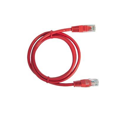 Cable de parcheo UTP Cat6 - 2 m - rojo