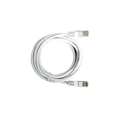 Cable de parcheo UTP Cat6 - 3.0 m - blanco