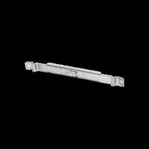 Clip Recto Automático para unir tramos de charola con peralte de 54 con acabado Electro Zinc