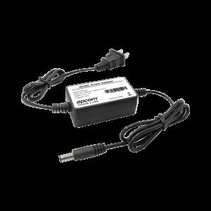 Fuente de poder de 5 Vcd regulado @ 2A; Voltaje de entrada de 100-240 Vca.