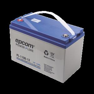 Acumulador EPCOM 12Vcd 110Ah Tecnología VRLA AGM Ciclo Profundo para Aplicaciones Fotovoltaicas