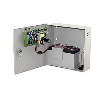 Fuente de alimentación de 1 salida 11-15 Vcc 5 A / Compatible con batería de respaldo y temporizador integrado / Voltaje de entrada 96-264 Vca
