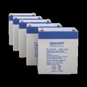 Paquete de 5 Baterías PL4.512