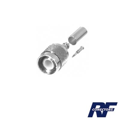 Conector TNC Macho de Anillo Plegable para Cables RG-58/U