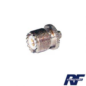 Adaptador en Línea de Conector SMA Hembra a UHF Hembra (SO-239)