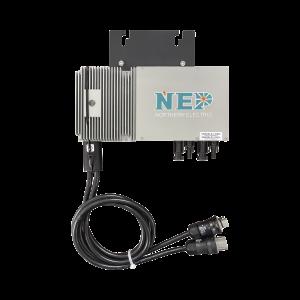 Microinversor 600W para Interconexión a Red Eléctrica 110 Vca