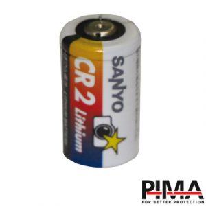 Batería de litio CR2; 3.0 V