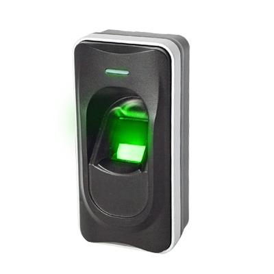Lector esclavo / Huella Digital / Lector de Tarjetas de Proximidad / RS-485 / Interior y Exterior / Requiere Panel de Control de Acceso AccessPRO