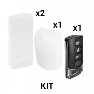 KIT Básico Sensores Inalámbricos - Incluye 2 Contactos Magnéticos