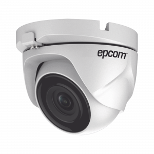 Eyeball TURBOHD 720p / METALICA / Gran Angular 92° / Lente 2.8 mm / IR Inteligente 20 mts / Exterior IP66 / TVI-AHD-CVI-CVBS / dWDR