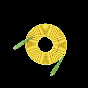 Jumper de Fibra Óptica Monomodo SC/APC SC/APC Simplex