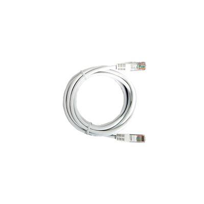 Cable de parcheo UTP Cat5e - 0.5 m - blanco