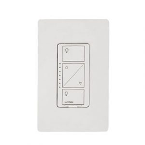 Atenuador (Dimmer) de pared. Aumenta/Disminuye Intensidad de Iluminación. No requiere cable neutro